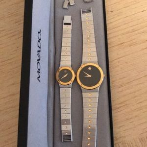 Authentic Movado Watches